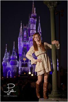 Madison, 2012 Senior Model, Disney World Session » John Pyle Photography