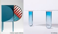 Friday next blog | Trend Glass in Colour #fridaynext #trend #blog #interior #glass #colour #credenza #nendo #notremonde #bouroullec