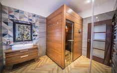 Nejmenší model Klafs - sauna Smart pro 1-2 osoby Sauna, Models, Halle, Vanity, Bathroom, Templates, Dressing Tables, Washroom, Powder Room