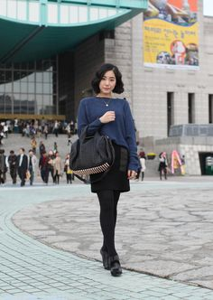 At Seoul Fashion Week… Juyoung Choi