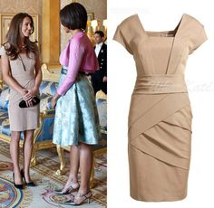 i have a confession to make i pretty much love Kate Middletons taste in clothes. i love how classy and lovely she looks.