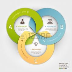 Abstract business circle origami style options banner. illustration. can be used for workflow layout, diagram, number options, step up options, web design, infographics. Illustration
