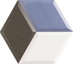Realonda Diamond Diamond Azul , Przestrzenie społeczne, Łazienka, Kuchnia, Gres szkliwiony, ścienne, Powierzchnia błyszcząca, krawędzie nie rektyfikowane