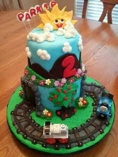 thomas the train birthday cakes - Google Search
