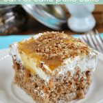 Better Than Easter Carrot Cake Poke Cake