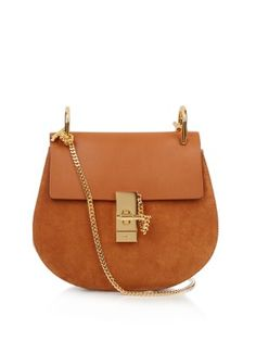 Drew small leather and suede cross-body bag | Chloé | MATCHESFASHION.COM