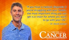 Watch as Dr. David Jockers opens up to Ty about his own cancer scare and the steps he would take if he were diagnosed with colon cancer. (Video transcript included) Click through and watch the video. Please re-pin. Together we are changing the world and saving lives everyday. // The Truth About Cancer <3
