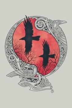 awesome Tattoo Trends - HUGIN&MUNIN ...