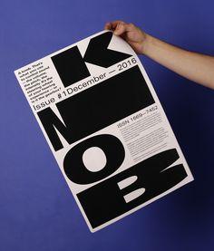 """designbby: """"KNOB """""""