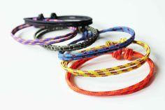 Simple Rope Bracelet Black by AllBeta on Etsy