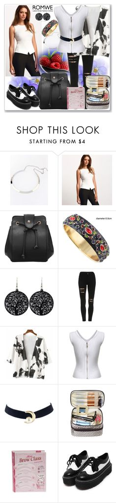 """""""www.romwe.com-XIII"""" by ane-twist ❤ liked on Polyvore featuring vintage"""