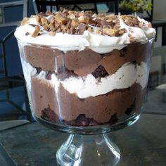 BROWNIE TRIFFLE