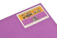 5c Magna Carta Postage Stamps - Vintage 1965 - Unused - Quantity of 50 - Purple/Gold