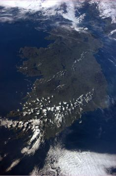 6/16/14 Ireland from the ISS.