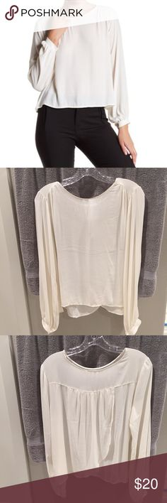 LUSH long sleeve blouse LUSH long sleeve blouse. NWT. 100% polyester. Lush Tops Blouses