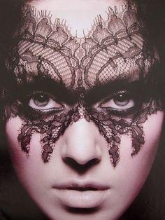beauty lace mask - Google Search