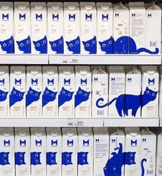 Pictures Worth More Than 1000 Words (24 Images) Ästhetisches Design, Design Fails, Design Ideas, Clever Design, Logo Design, Milk Packaging, Packaging Design, Branding Design, Smart Packaging