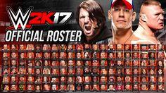 WWE 2K17 Official Roster - All 138 Superstars, Legends & Women!