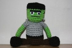 2000 Free Amigurumi Patterns: Frankenstein crochet pattern