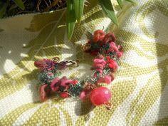 Eco Funky Yarn Copper Wrap by shannysbijou aka Shannonmade on Etsy, $22.50