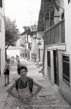 Portuzarra kalea / Calle Portuzarra, Puerto Viejo (Colección Daniel Zubimendi) (ref. DZN00053)