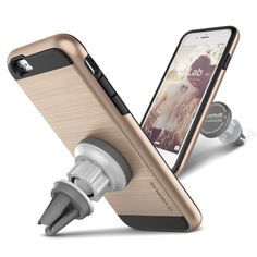 Verus Verge Magnetic Flat iPhone 6/6S Case - Shine Gold - Buymon