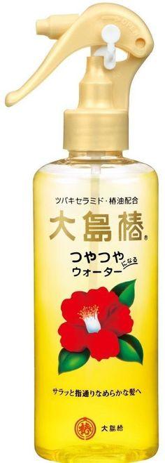 Oshima Tsubaki Hair Water 180ml Camellia Seed Oil Gleaming Hair Made in Japan FS #OshimaTsubaki