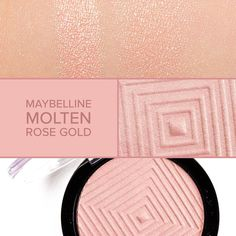 So pretty! Review of @maybelline Molten Rose Gold