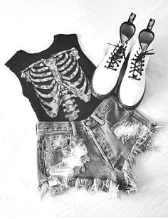 Tenue rock estivale