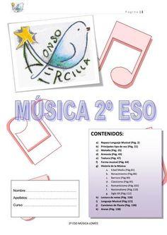 Cuadernillo de 2 ESO Curso 2016/2017 CONTENIDOS: a) Repaso Lenguaje Musical (Pág. 2) b) Principales tipo de voz (Pág. 21) c) Melodía (Pág. 25) d) Armonía (Pág. 43) e) Textura (Pág. 47) f) Forma musical (Pág. 64) g) Historia de la Música: a. Edad Media (Pág.81) b. Renacimiento (Pág.86) c. Barroco (Pág.90) d. Clasicismo (Pág.95) e. Romanticismo (Pág.102) f. Nacionalismo (Pág.110) g. Siglo XX (Pág.112) h) Lectura de notas (Pág. 116) i) Lenguaje Musical (Pág.121) j) Canciones de Flauta (Pág…