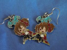Sword Art Online Anime Shirika Shirika Earrings Anime by laminartz, $6.00