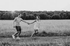 Nadja Eichin & Moritz Müller - Engagement Shooting in der Abendsonne | Nancy Ebert Fotoblog