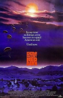 Red Dawn. The most stupid cold war movie ever made! Wolverines!