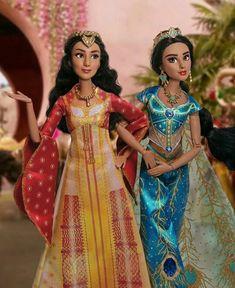 DISNEY Principessa Reale Shimmer Bambola di Raperonzolo-Design colore dell/'acqua
