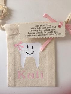 Tooth fairy bags (HTV)