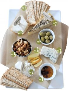Another amazing cheese plate idea for entertaining. I can't get enough!