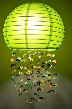 DIY Idea ~ lamp