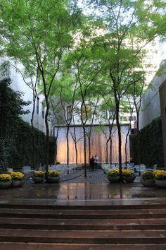 Samuel Paley Park between Madison & 5th Avenue Manhattan New York