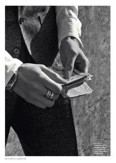 editorial for L'Officiel Thailand - January 2014 Photographer: Marco Marezza Stylist: Luigi Gaballo