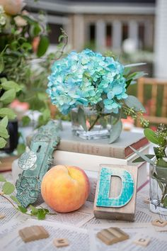 Vintage Book Inspired Wedding Ideas