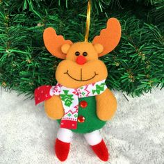 2pcs/lot Elk Tree Door Christmas Decoration For Home Ornament Decor Hanging Pendant for Christmas Tree Xtmas Gift for Kids #>=#>=#>=#>=#> Click on the pin to check out discount price, color, size, shipping, etc. Save and like it!