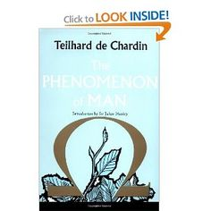 Pierre Teilhard De Chardin was one of the most distinguished thinkers and scientists of our time. He fits into no familiar category for he was at once a biologist and a paleontologist of world renown, and also a Jesuit priest. He applied his whole life, his tremendous intellect and his great spiritual faith to building a philosophy that would reconcile Christian theology with the scientific theory of evolution, to relate the facts of religious experience to those of natural science.