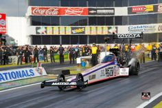 """Antron Brown in the 2015 Matco Tools, US. Army T/F Dragster. Antron Takes out Tony """" THE SARGE"""" Schumacher in the first round but loses to Shawn Langdon in the Final round!"""