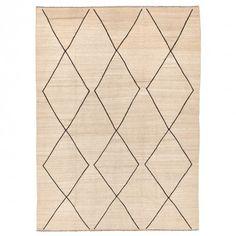 Tazarine Flat Weave Wool Rug - 8 2 x11 4