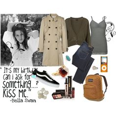 """Bella Swan -"" by mapoftheproblematique on Polyvore"