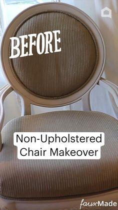 Reupholster Furniture, Furniture Making, Diy Furniture, Chair Makeover, Furniture Makeover, Repurposed Furniture, Painted Furniture, Diy Crafts For Home Decor, Do It Yourself Home