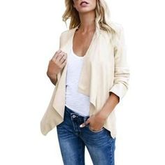 Stitch Winter Coat Irregular Solid Ladies Casual High Quality Jacket-Jacket-DMC_Fashion_Stylist-DMC_Fashion_Stylist