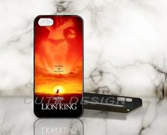 The Lion King, Walt Disney - Print on Hard Cover - iPhone 5 Case - iPhone 4 / 4s Case - Samsung Galaxy S3 case - Samsung Galaxy S4 case