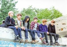 Suga, Jungkook, Rap Monster, J-Hope, Jin & Jimin