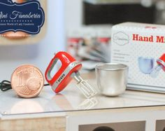 Miniature Stand Mixer with TILT MOTOR HEAD by MiniFanaberia